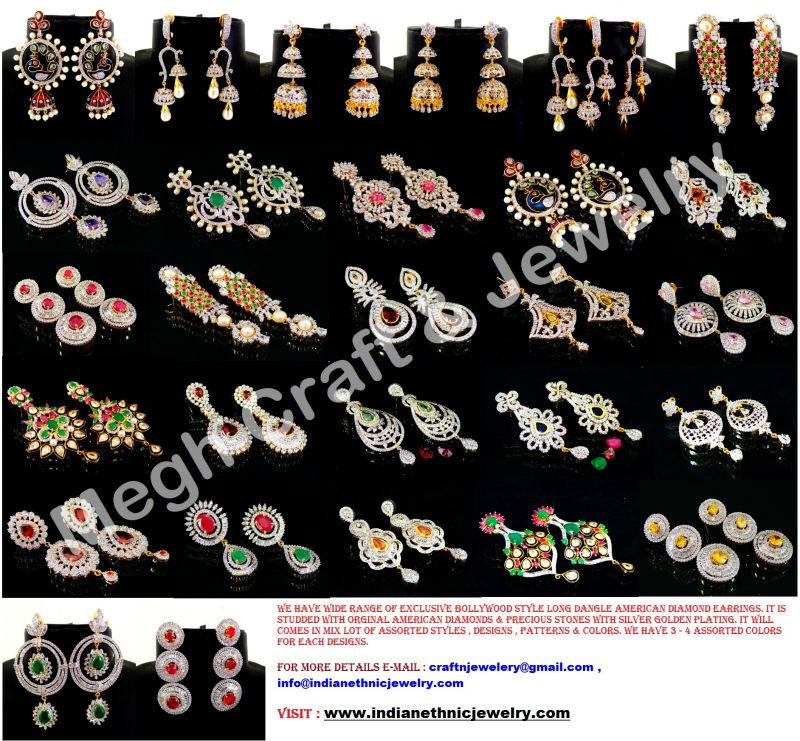 Indian Diamond Jewelry Sets Diamond Jewelry Set