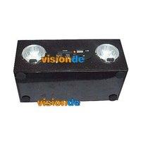 hy-b1 деревянные портативный динамик с fm 6 светодиодный свет для sd u диск mp3 ПК телефон