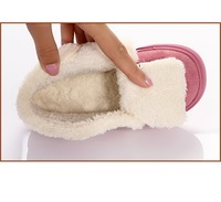 Free shipping warm children cotton padded shoes for boy and girl for wholesale and retail