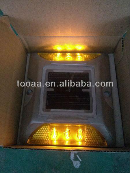 Aluminum Solar LED Driveway Markers