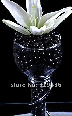 free shipping garden plant or flower planting creative using novelty item hydroponics water beads pearl crystal soil mud