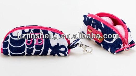 High quality fashion design golf ball bag for sale