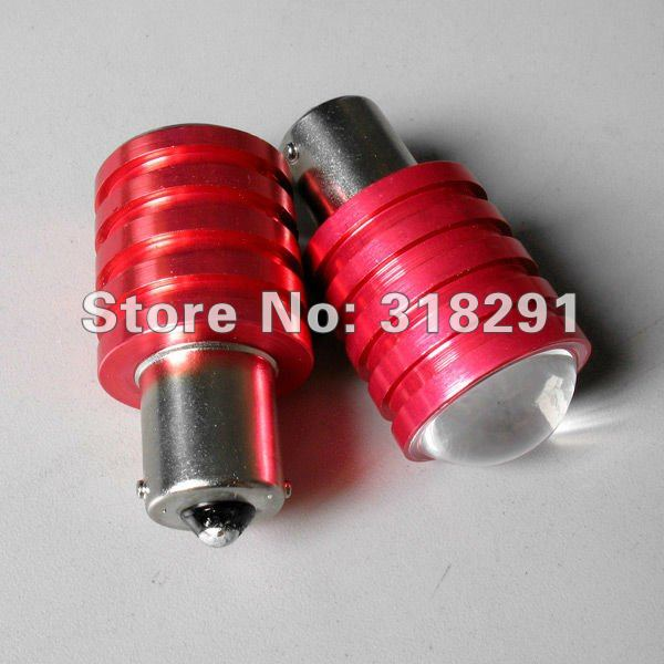 10pcs/lot 1156/Ba15s T15 T20 1157 CREE Q5 5W High power Led Car Reverse Light High quality low price Free shipping1