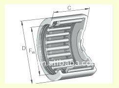Needle Roller Bearing NATR5PP, IKO Bearing