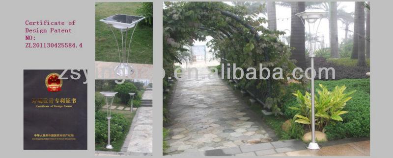 2013 new design patent light outside lights garden