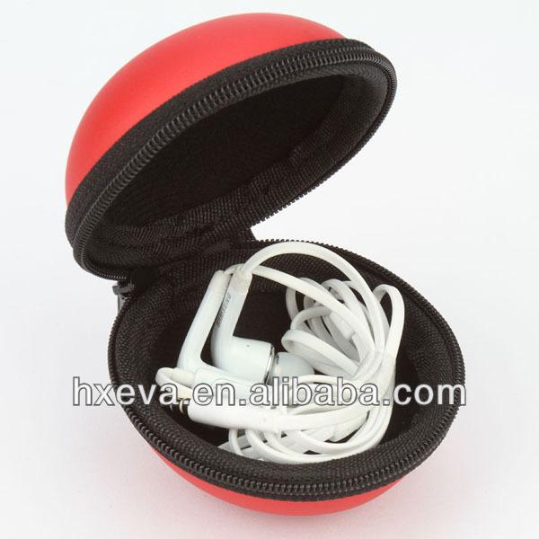 Popular new style portable EVA earphone case