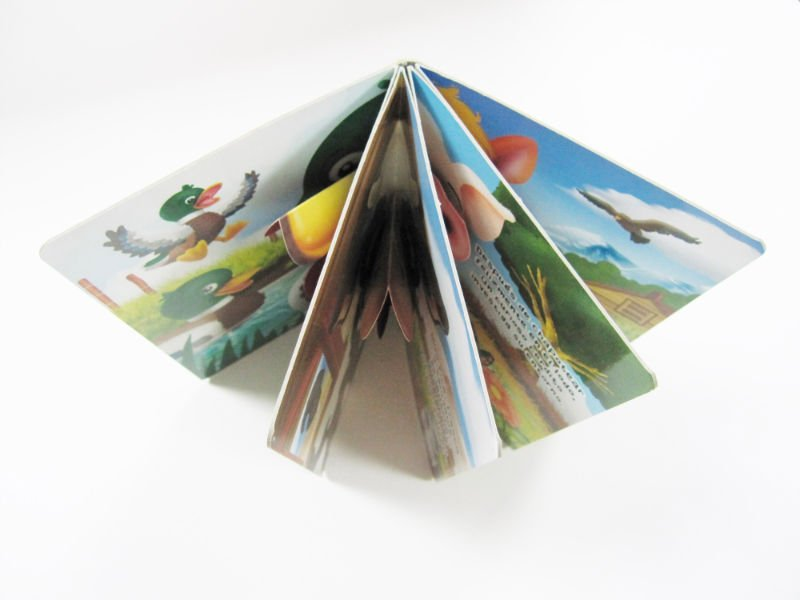 Children&#8217;s books/shaped book printing