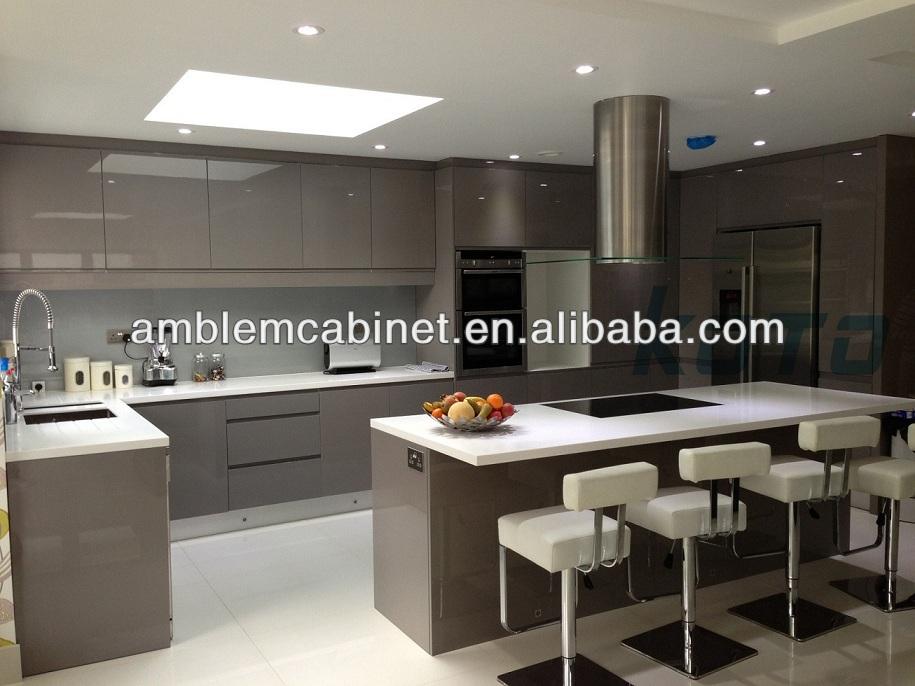 Alibaba chine made bon prix haute brillance armoires de for Armoire de cuisine a bon prix