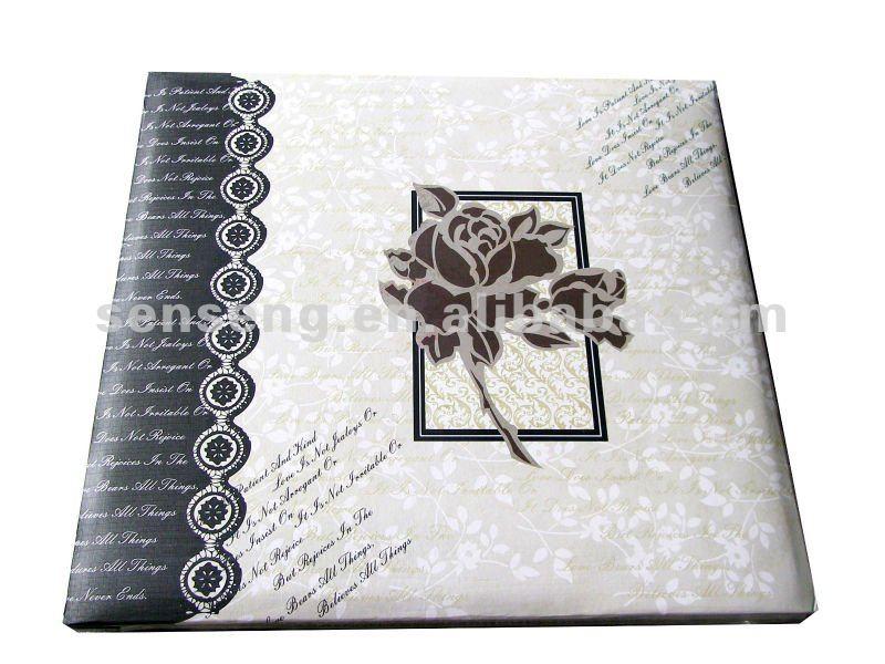 Wedding Scrapbook Album Scrapbook Paper Album Kit
