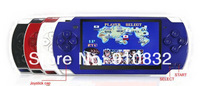 NEW Christmas gift -4.3 '' mp4 video game player ,handled video game player,with about 1000 games ,4GB,free shipping 1pc