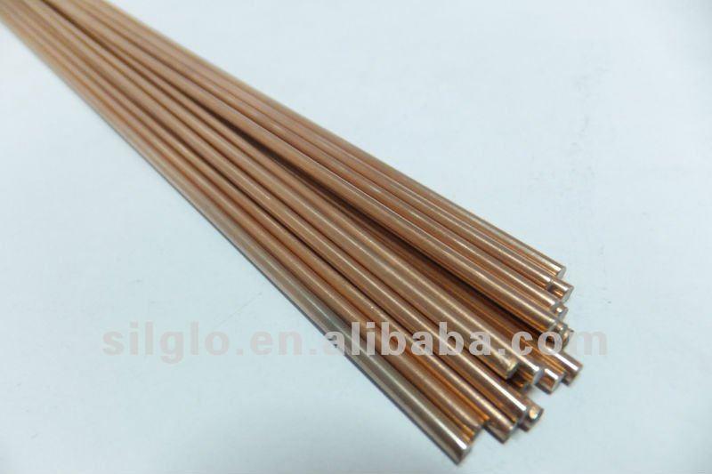 Easy flow copper phosphorous brazing alloy round welding