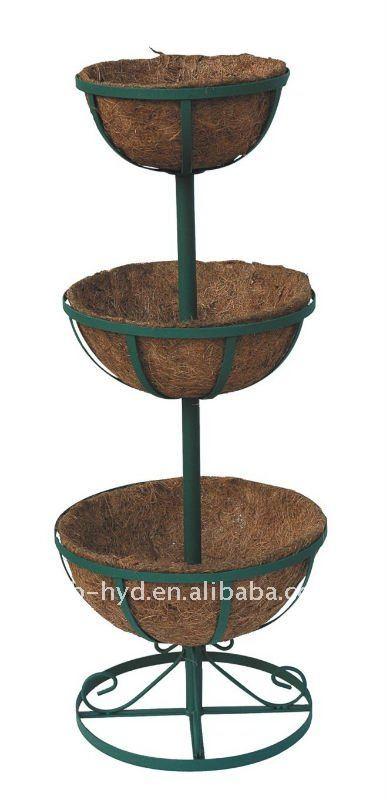 three tier planter stand 2