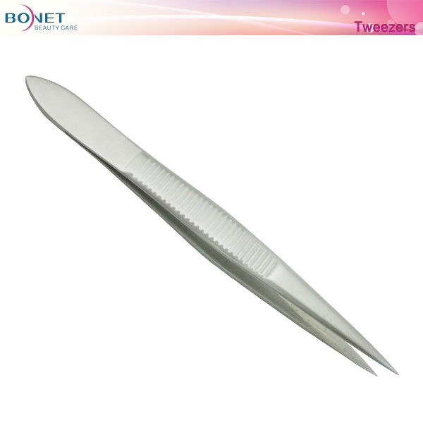 S16 Popular All Stainless Steel Series Cosmetic Tweezer