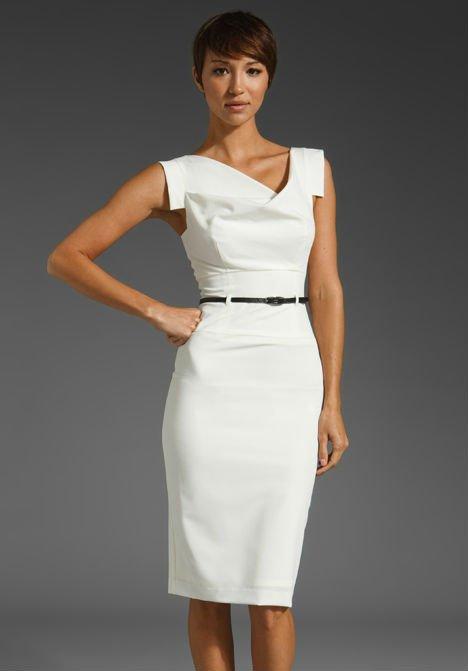 el mejor cliente primero calidad perfecta Vestido blanco para la oficina – Hermosos vestidos