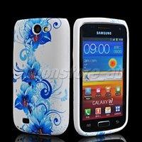 Чехол для для мобильных телефонов FLORAL PATTERN SOFT GEL TPU SILICONE CASE COVER FOR SAMSUNG I8150 GALAXY W