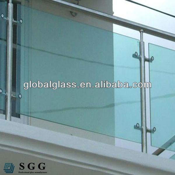 Купить стеклянный балкон перила оптом из китая.