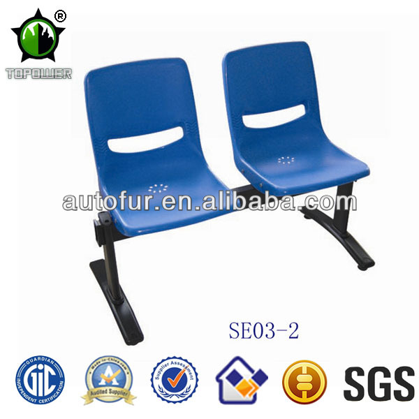 Modern Plastic 2 Seaters Waiting Chairs,Public Waiting Room Chair,Airport Waiting Seats
