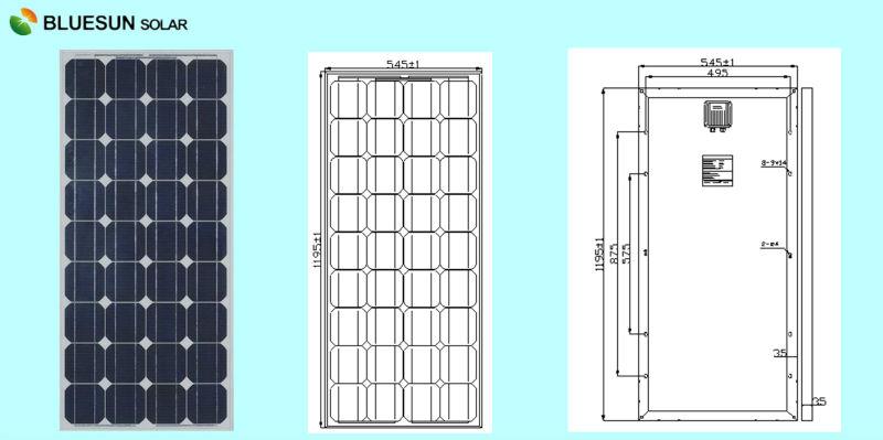 cheaper price mono solar panel 100 watt