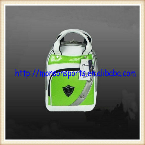 women men promotional golf shoe bag travel storage ventilated tote bag zip bag