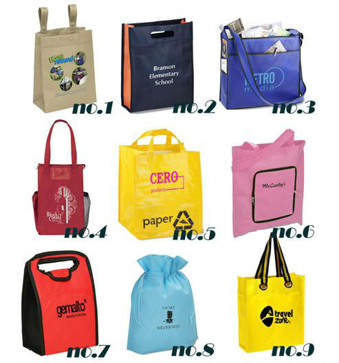 Custom blank tote bag reusable packaging promotional bags