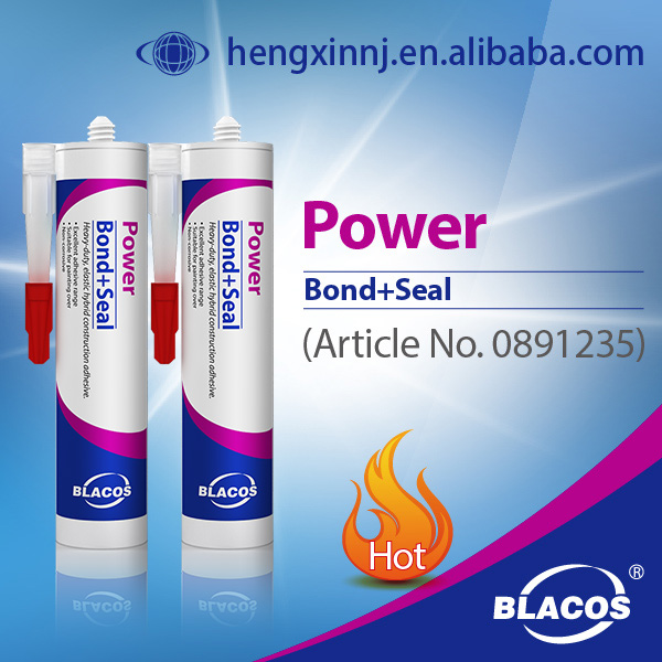 Blacos Bond+Seal Power Ms Polymer Clear Waterproof Sealant