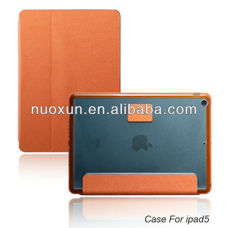 2014 new arrival pu leather mobile phone cases for ipad air