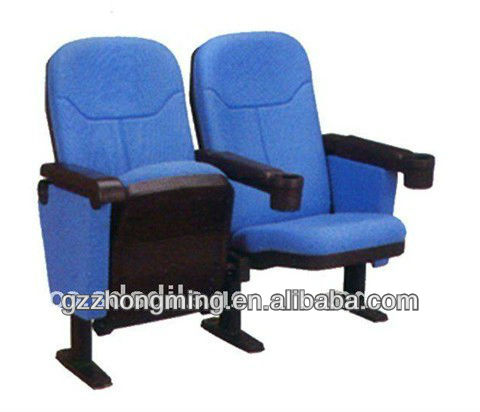 Modern Home Theater Chair With Cup Holder Theater Fabric Cinema Chairs Foldin