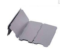 9 пластины открытый кемпинг печи ветровое стекло кемпинг лобовое стекло