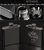 Машина по переработки стекла Russia genuine relief double eagle 6 oz 304 flagon portable portable gift box to send sets of shipping