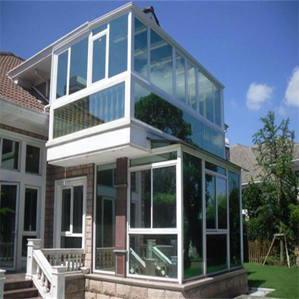 China moderna estilista e pr fabricada casa de vidro de alum nio de alta qualidade jardim de - Landscaping modern huis ...