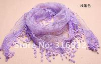Женские шарфы, Шапки, Комплекты lace scarf, lace shawl, head wear, new design, hot sale