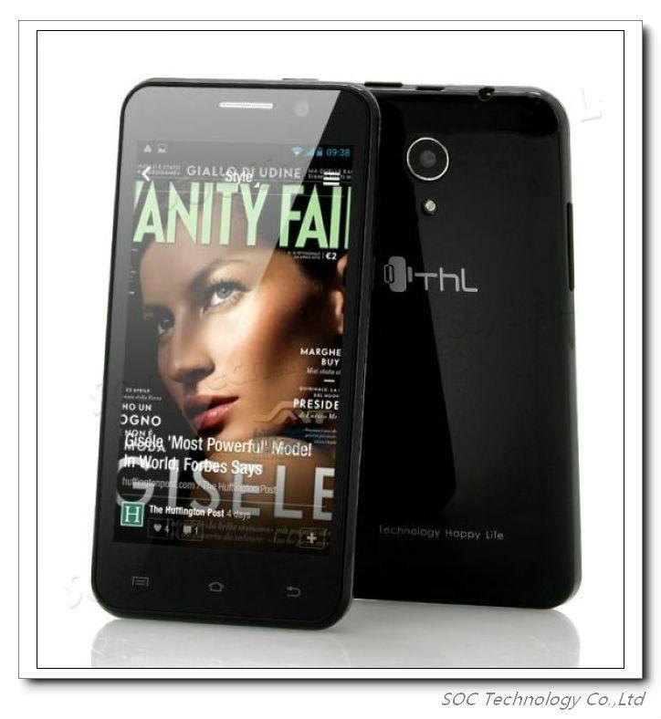 100% Original 4.5'' THL W100S Quad Core smartphone Android 4.2 MTK6582 1.2GHz 1GB RAM 4GB ROM