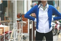 Free Shipping Hot sale new ladies' women's white and working shirt OL blouses,long sleeves shirt Lowest price,favor quality