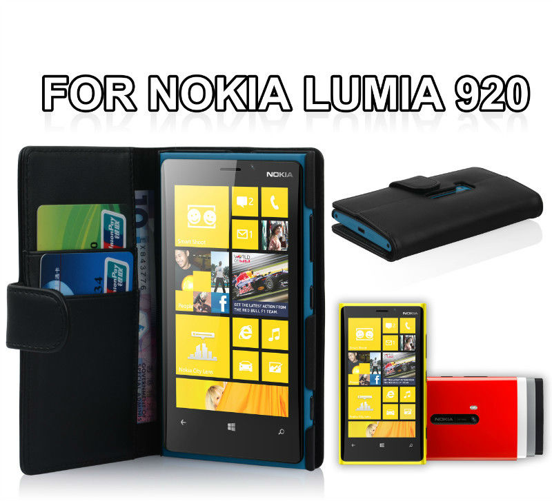 for nokia lumia 920, wallet leather case for nokia lumia 920
