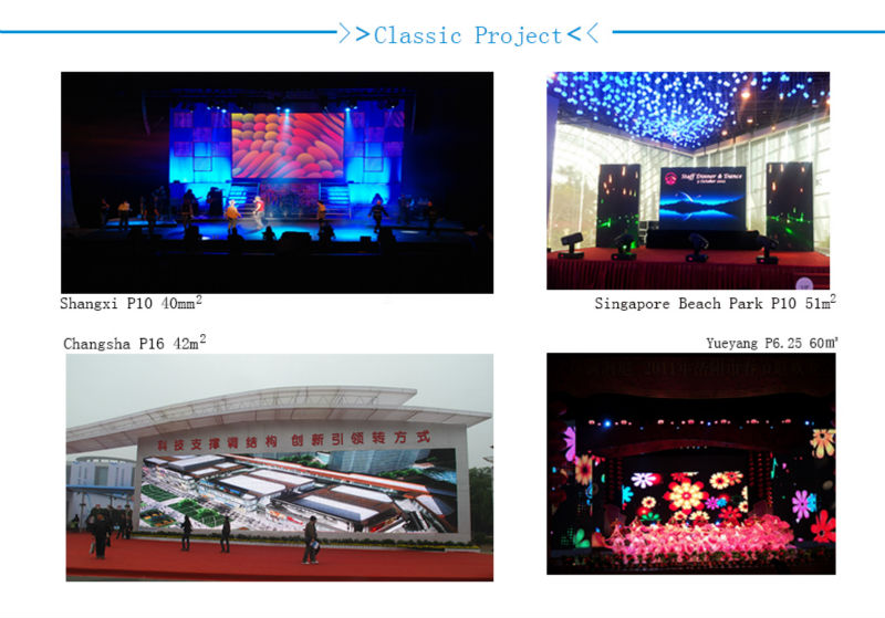 p 16mm outdoor full color led stage screen video display