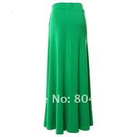 Женская юбка Hot Sale Women's Modal Cotton Flared Hem A-line Long Skirt #712165