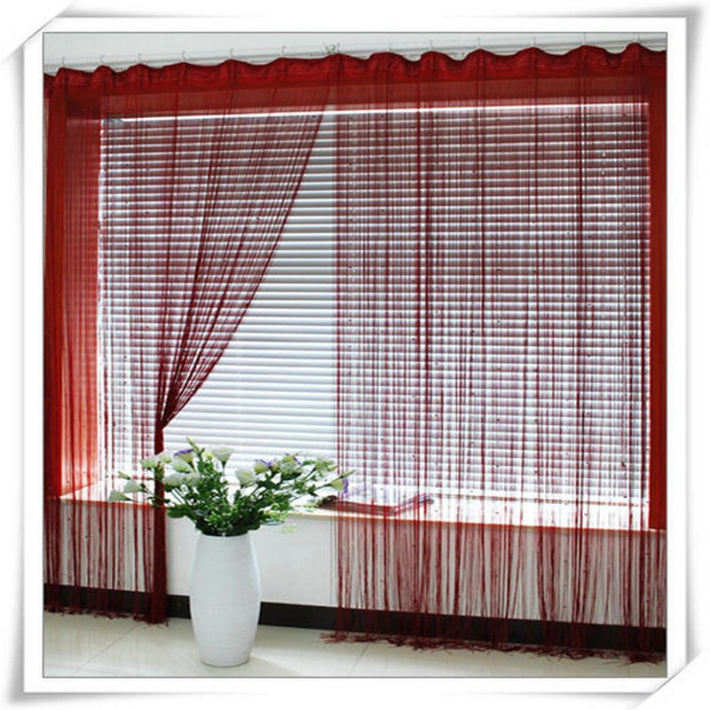 2013 noble White String/line curtains