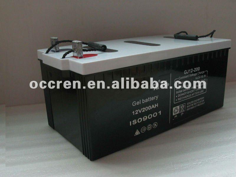 12V 50A 65A 100A 150A 200A 250A Gel Battery
