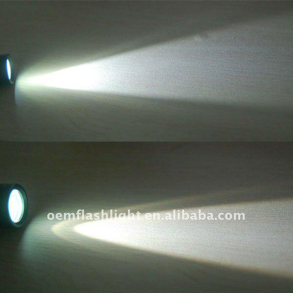 Power Style 3W CREE LED 180 Lumens 1-Mode Flashlight (3*AA)