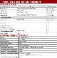 Мультиметр UNI-T DHL EMS UT33B , LCD, AC/DC, 1999,  UT30163