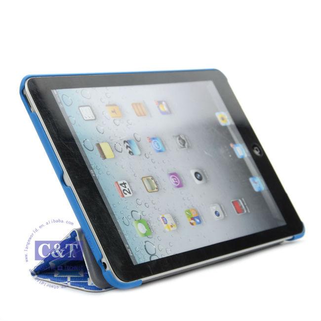 Portfolio Smart Case For Apple iPad Mini,for mini ipad case