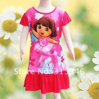 Ночная рубашка для девочек lassock 2011 , TQ0011S/4pieces