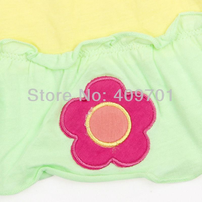 Девушки цветка одежда nova детей платья