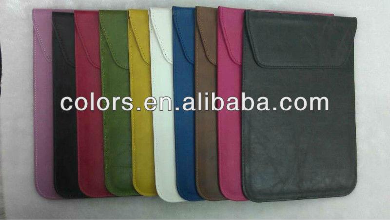 Crazy Horse lines PU bag for ipad mini / protective bag for ipad mini