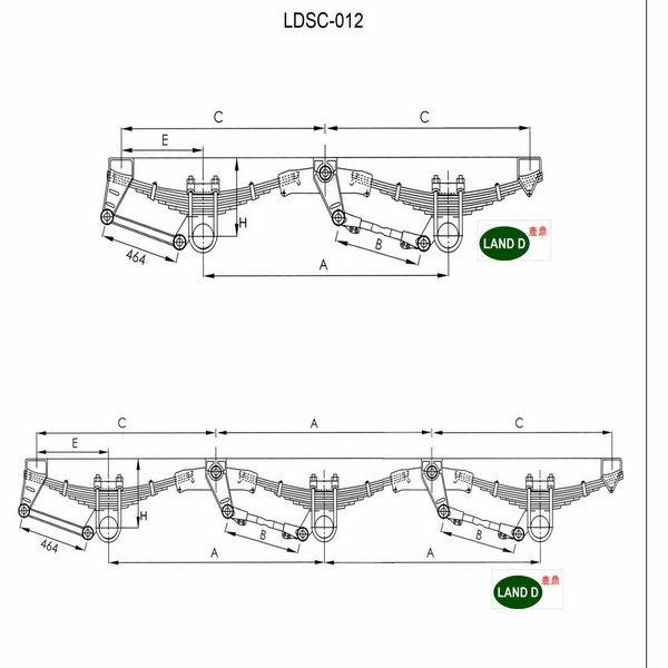 land d 2 axle semi trailer parts buy semi tractor trailer parts semi tractor trailer parts