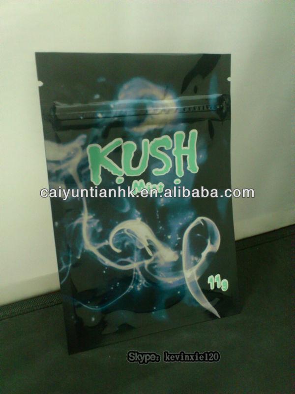 11g kush mint potpourri smoke bags/kush herbal incense bags/kush spice bags
