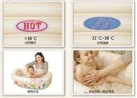 Товары для бассейна Tiny Tots Baby Bathtub, inflatable pool, baby toy -size:91x61x29 cm