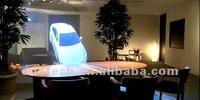 хороший дизайн голографического проецирования для голограмма отображения для свадьбы, выставки, Торговый центр, банк