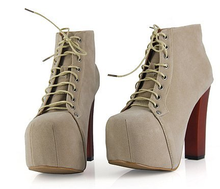 2012 High heels High platform Ankle boots Sexy Laides High heel shoes Martin boots Jeffrey Campbell Designer women shoes