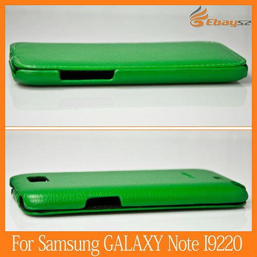 High Quality Leather Case Flip Cover For Samsung Galaxy Note2 II N7100
